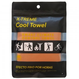TOALLA X-TREME COOL TOWEL NARANJA