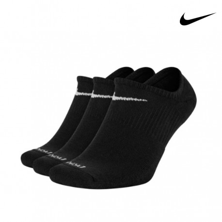 CALCETINES NIKE EVERYDAY PLUS CUSHIONED INVISIBLES PACK 3 SX7840-010