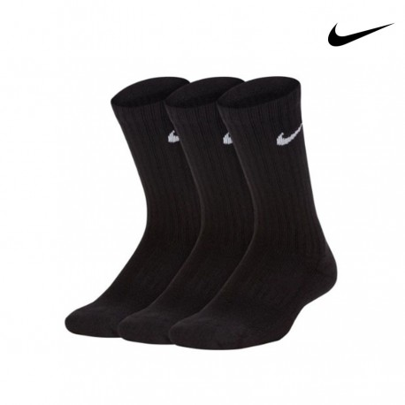 CALCETINES NIKE PERFORMANCE CUSHIONED CREW TRAINING SOCKS (3 PARES) SX6842-010